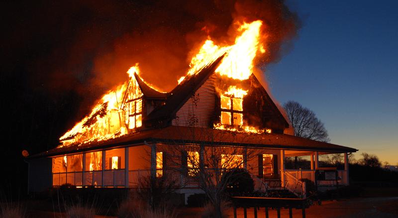 pojar - Как защитить дом от пожара, 8 советов