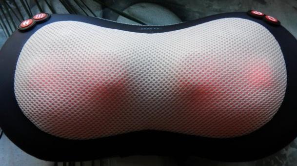 Massage Pillow1 - Массажная подушка с прогревом Massage Pillow. Отзыв